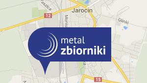 Lokalizacja firmy Metal Zbiorniki
